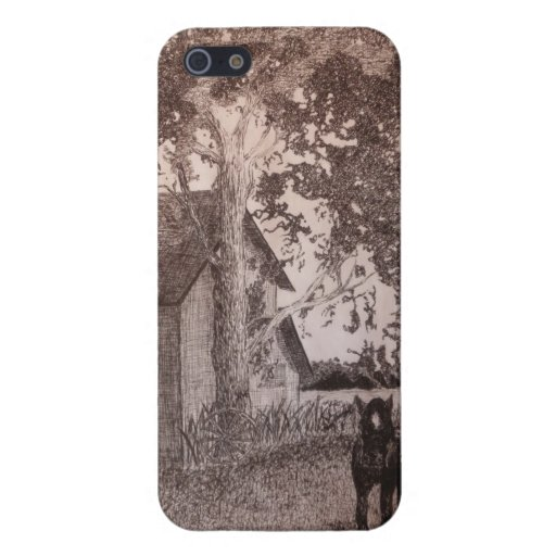 Old Barn Glossy i-phone5 Case Cover For iPhone 5