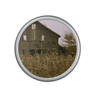 Old Barn in a Golden Corn Field Speaker
