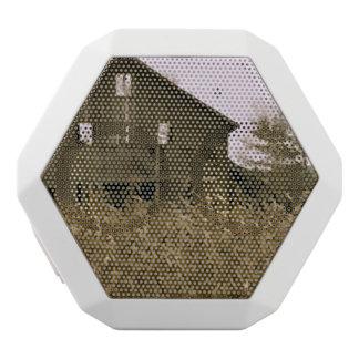 Old Barn in a Golden Corn Field White Bluetooth Speaker
