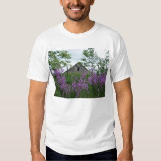Old Barn Lookin' Back at Me Over the Phlox T-Shirt