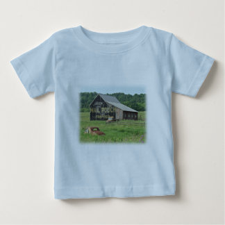 Old Barn Mail Pouch Tobacco Advertising Baby T-Shirt