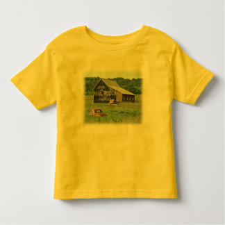 Old Barn Mail Pouch Tobacco Advertising Toddler T-shirt