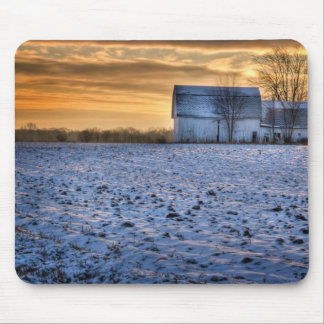Old Barn Mouse Pad