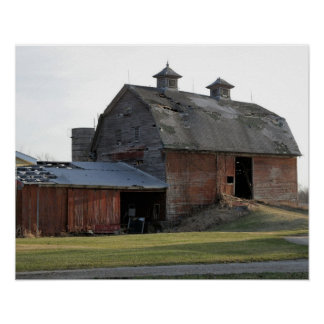 Old Barn on US-31 Poster