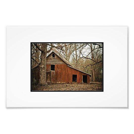 Old Barn Photo Print
