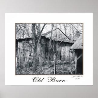 Old Barn Print #5