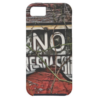 Old Barn Sign Painting Phone Case