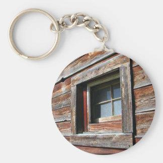 Old Barn Window Keychain
