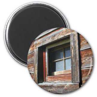 Old Barn Window Magnet