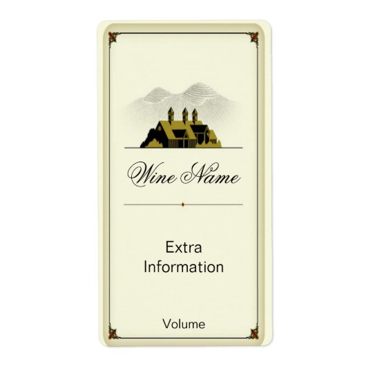 Old Barn Wine Label
