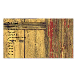 Old Barn Wood Double-Sided Standard Business Cards (Pack Of 100)