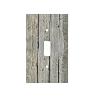 Old Barn Wood Light Switch Cover