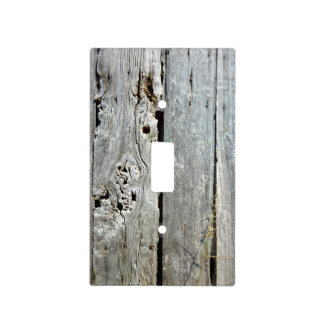 Old Barn Wood Light Switch Plate