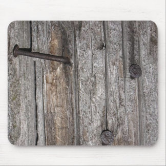 Old barn wood mouse pad