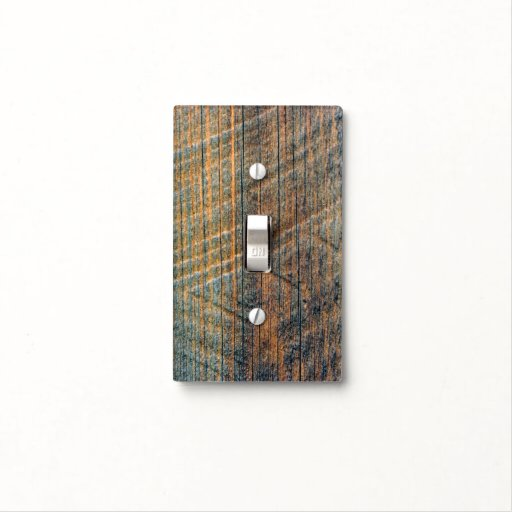 Barn Light Covers: Old Barn Wood Photo Switch Plate Cover