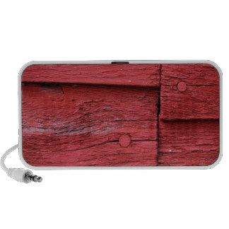old barn wood portable speaker