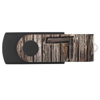 Old Barn Wood Swivel USB Flash Drive