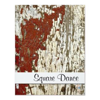Old Barn Wood Texture Vintage Peeling Paint Shabby Card