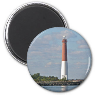 """Old Barney"" Barnegat Lighthouse LBI NJ Magnet"