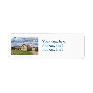Old Barns Label