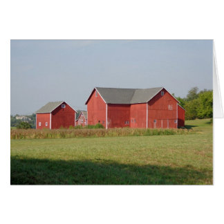 Old barns note card for all occasions