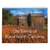 Old Barns of Rural North Carolina Calendar