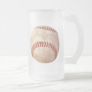 Old Baseball - 16oz. Frosted Mug