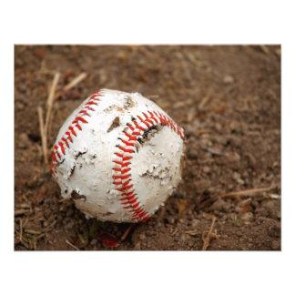 old baseball announcement