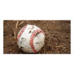 old baseball photo card