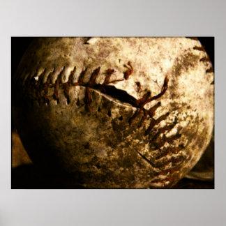 Old baseball posters