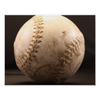 Old Baseball Poster