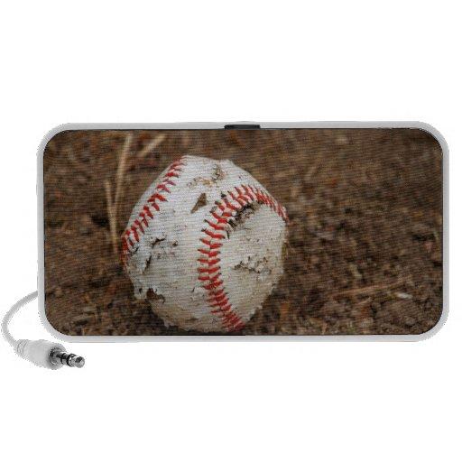 Old Baseball Travel Speaker