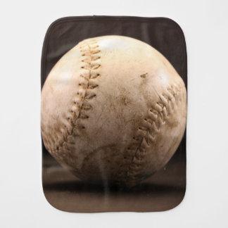 Old Baseball Baby Burp Cloths