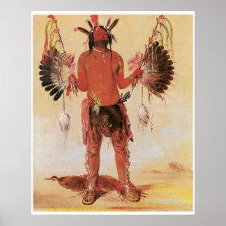 Old Bear, A Medicine Man 1832 Poster