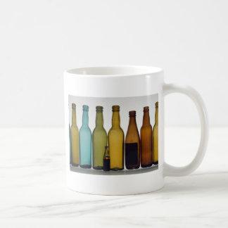 Old beer bottles coffee mug