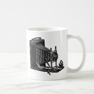 Old Bellows Camera - Vintage Illustration Coffee Mug