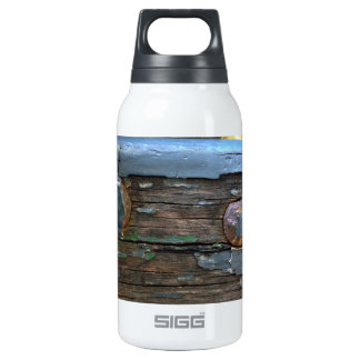 Old Bench Close Up 10 Oz Insulated SIGG Thermos Water Bottle