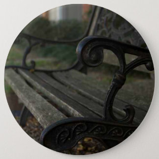 Old Bench Pinback Button