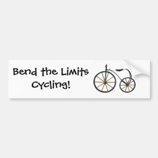 Old Bicycle Bumper Sticker