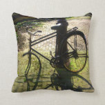 Old Bicycle Pillow