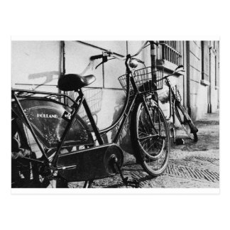 Old Bicycles in Innsbruck, Austria Postcard