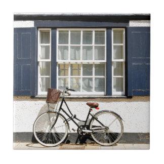 Old bike ceramic tile