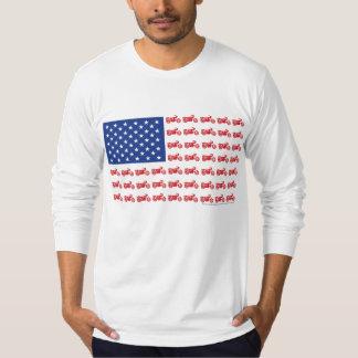 OLD-BIKE-FLAG-2-TEE T-Shirt