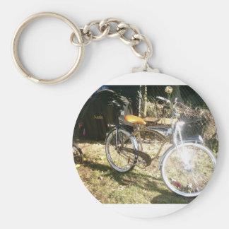 old bike keychain