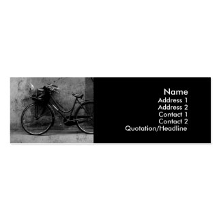 Old Bike Profile Cards Business Card Template