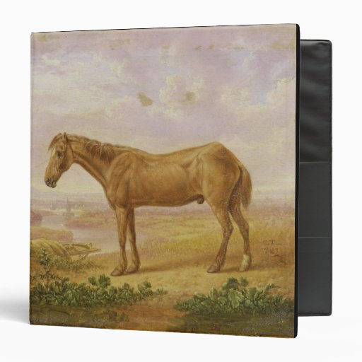 Old Billy, a Draught Horse, Aged 62 (oil on panel) Binder