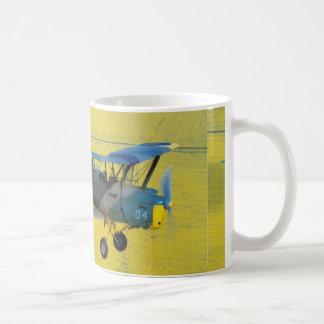 old biplane mugs