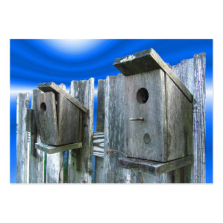 Old Bird Houses ATC Business Card Template