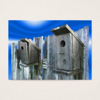Old Bird Houses ~ ATC Business Card