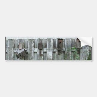Old Bird Houses ~ bumper sticker